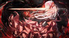 Leona Ardealescu - Pixiv Fantasia: New World - Image - Zerochan Anime Image Board Pixiv Fantasia, Soundtrack Music, Anime Weapons, Warrior Girl, Anime Warrior, World Images, Leap Of Faith, Dog Snacks, Couple Art