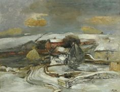 Sheila Fell (1931-1979) - Houses in Winter
