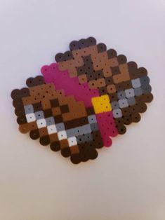 Perler Bead Designs, Easy Perler Bead Patterns, Melty Bead Patterns, Perler Bead Templates, Hama Beads Design, Diy Perler Beads, Perler Bead Art, Beading Patterns, Hamma Beads 3d