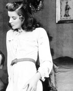 it's Katharine Hepburn
