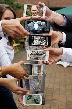 Ein unvergesslicher Tag …. Legen Sie eine Hochzeit auf eine originelle Art fest mit diesen 14 Foto Ideen! - DIY Bastelideen