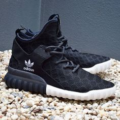 932698b794 adidas Originals Tubular X Prime Knit  Black I wanted these shoes so  freaking bad!