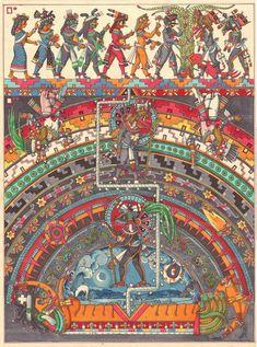 Machu Picchu, Quetzalcoatl Art, Aztec Culture, The Descent, Yellow Sky, Aztec Art, Native American History, American Symbols, Mesoamerican