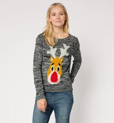 Sklep internetowy C&A | Sweter dzianinowy, kolor:  czarny / szary 27,90