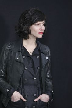 How to dress French when you are not. Wear a classic jacket or coat - FocusOnStyle.com