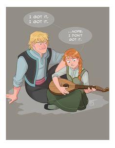 Anna From Frozen Fan Art | Anna and Kristoff - Frozen Fan Art (37079491) - Fanpop fanclubs