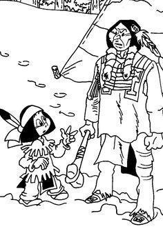 ausmalbilder indianer | ausmalbilder | indianer, cowboy