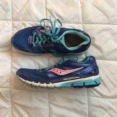 Saucony Guide 8 blue Size 9.5, good condition, plenty of life left Saucony Shoes Athletic Shoes