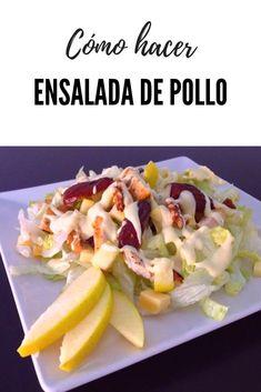 Good Healthy Recipes, Healthy Salads, Food Art, Salad Recipes, Potato Salad, Food And Drink, Yummy Food, Chicken, Healthy Recipes