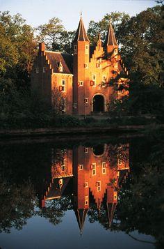 Una de las haciendas rurales entre Breukelen y Loenen, la región del Vecht