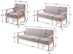 Sizes and plans of sofas and armchairs Balcony Furniture, Diy Outdoor Furniture, Couch Furniture, Steel Furniture, Pallet Furniture, Furniture Plans, Rustic Furniture, Furniture Making, Furniture Design