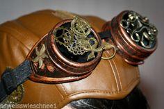 Mechanical-Steampunk-Brille-Golden-Kraken-Gothic-Octopus-Goggles-Gears-WGT-SK7