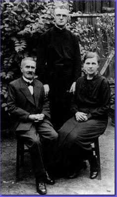 Alfred Delp, S.J., with his parents