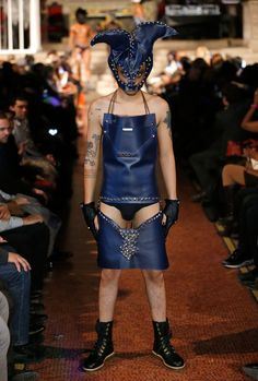 """New York Fashion Week 2013: The Wildest & Least Wearable Looks From The Runway -- A whole album of """"Oh, Honey, No""""!!!! These designers must be on crack!"""