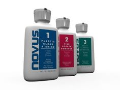 NOVUS 7136 Plastic Polish Kit - 2 oz. Novus