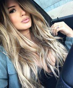 Perfect hair color Natalie Mejia