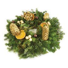 Coronita-aurie-de-Craciun Christmas Wreaths, Holiday Decor, Corona