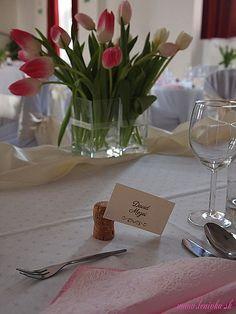 Ružová ombre svadobná výzdoba/Pink ombre wedding decoration