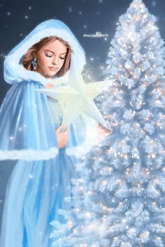 Merry Christmas Gif, Merry Christmas Pictures, Vintage Christmas Images, Christmas Scenes, Merry Christmas And Happy New Year, Blue Christmas, Christmas Angels, Christmas Snowman, Christmas Greetings