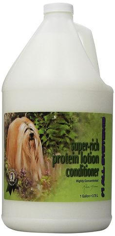 1 All Systems Super-Rich Protein Lotion Pet Conditioner, 1-Gallon -- Visit the image link more details.