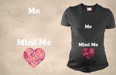 Me Mini Me T Shirt Funny Maternity Shirt Pregnancy Tee Tshirt For Pregnant Motherhood Top Pregnant on Etsy, $29.50