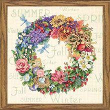 Wreath of All Seasons. Isn't this pretty?