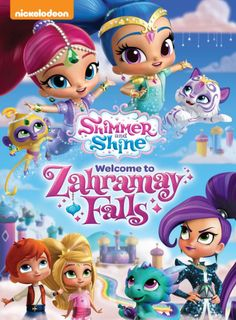 """#Giveaway Win the DVD """"Shimmer And Shine: Welcome To Zahramay Falls"""" (Ends 9/5)"""