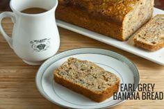 Earl Grey banana bread via @Lauren Keating | Healthy-Delicious.com // #banana #recipe #bananabread #earlgrey #tea