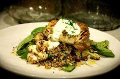 Lemon & Oregano Chicken with Roasted Cauliflower & Quinoa Salad