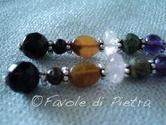 Chakra Sound Earrings  Orecchini pendenti in di FavolediPietra, €19.00