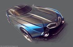François Aurelien sketch - Concept BMW