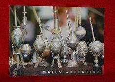 Yerba Mate Gourds Bombillas Postcard | eBay