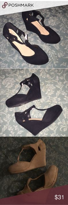 Bundle of 3 Platform Shoes 🎀 Size 9 Bundle of 3 Platform Shoes   🎀 2 Suede Platform Shoes 🎀 One black - New  One Dirty Pink - Used   🎀 Leather Platform Heels 🎀 Gorgeous hidden platform heels up for sale!  They are new but have been in my closet without a box. Have too many shoes and want to get rid of some.  Rose Pink Shoes Platforms
