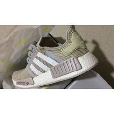 080e3820afc0a Adidas NMD R1 Talc Cream Off White S76007 on We Heart It