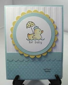 Easy Events set - baby card. This is a very versatile set.