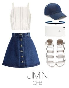 """in fansing whis bts"" by mazera-kor on Polyvore featuring мода, Chicwish, Topshop, rag & bone, Kismet by Milka, bts и jimin"
