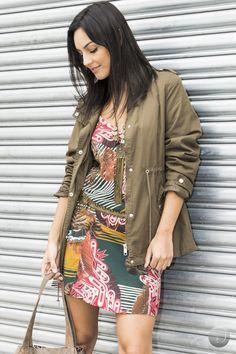 #debrummodas #inverno #vestido #estampado #style #estilo #moda #fashion #modafeminina