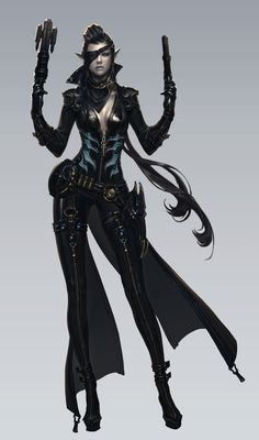 """[Aion 4.0] First official concept arts of """"Gunner"""" class! - Daeva's Report"""