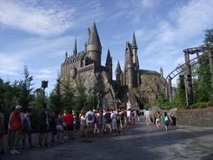 Harry Potter ride at Universal Studios Orlando - probably the best ride ever along with The Amazing Spiderman Ride in the same Islands of Adventure park. Certainly worth losing yourself in either of these!