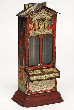 Stollwerk, chocolate machine, 2 ply, angel and dwarfes, : Lot 2189