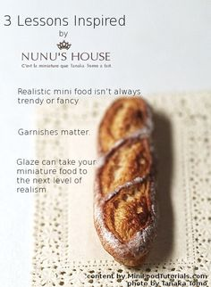 3 ways to make more realistic #miniature #food from @MiniFoodTutorials.com