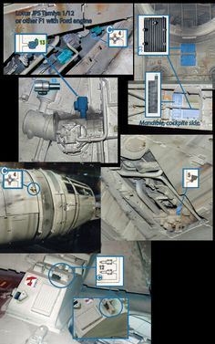 Large scale Millennium Falcon Kit ID's**New Maps at start of thread** - Page 13