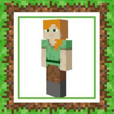 Divertido Kit de Minecraft para Imprimir Gratis.