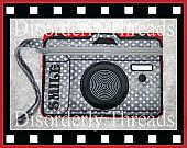 Camera Zippered Bag ~ Disorderly Threads