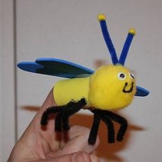 "BEEware of what malaria can do.  Can't put your finger on how to eradicate malaria?  Try making these bug finger puppets. Then use your fingers to text ""MOM"" to 27722.  BEElieve in IMAGINE NO MALARIA!"