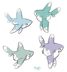 Oceanic Whitetip by ~Polarkeet on deviantART ★ || CHARACTER DESIGN REFERENCES | キャラクターデザイン • Find more artworks at https://www.facebook.com/CharacterDesignReferences & http://www.pinterest.com/characterdesigh and learn how to draw: #concept #art #animation #anime #comics || ★