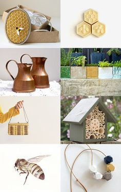 wake up bees! by Audra Zili on Etsy--Pinned with TreasuryPin.com