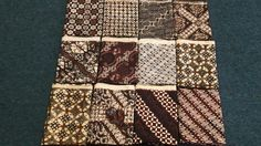 Sogan Batik from Central Java #patern #batik #indonesia