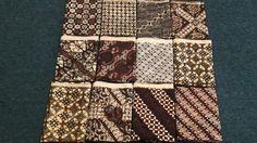 Sogan Batik from Central Java #patern #batik #indonesia