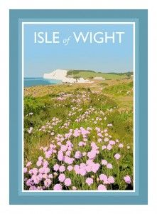IOW West Wight isle of wight poster art